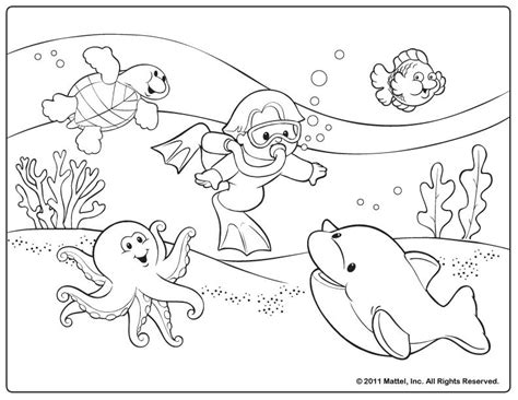 summer coloring page pdf summer color pages free coloring pages ocean for kids