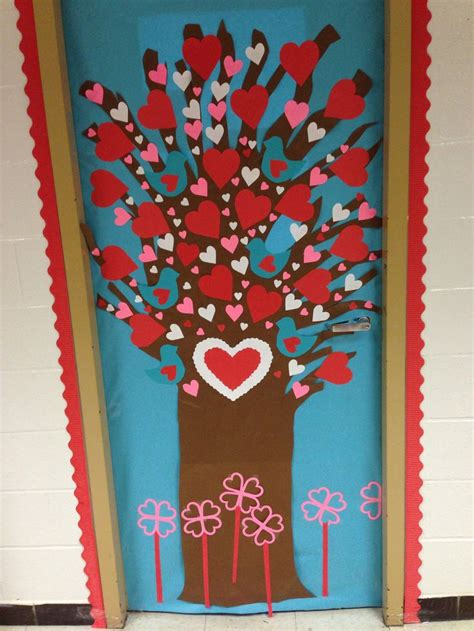 door decorations for valentines s day classroom door search teaching