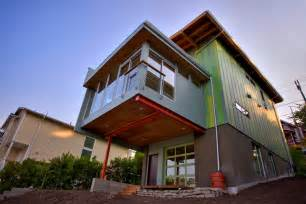 Environmentally Friendly Houses by Modern Affordable Eco Friendly Home By Case Architects