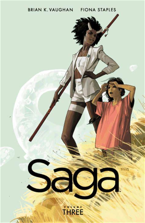 saga of the sw thing book 3 book review saga volumes 2 3 by brian k vaughan