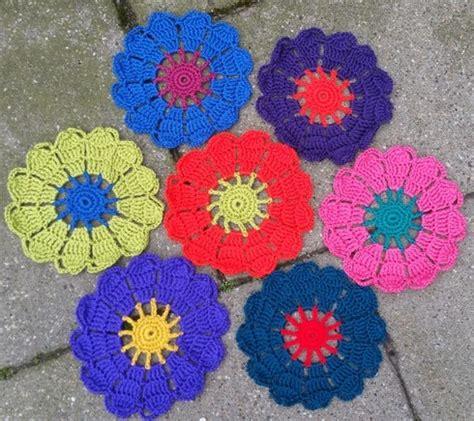 bloem haken patroon gratis lindevrouwsweb haakpatroon bloem