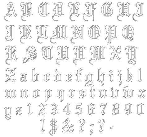 tattoo letters patterns 25 best ideas about old english tattoo on pinterest old