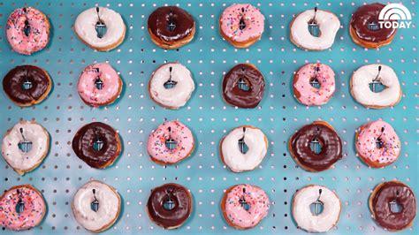 how to make a doughnut wall today com