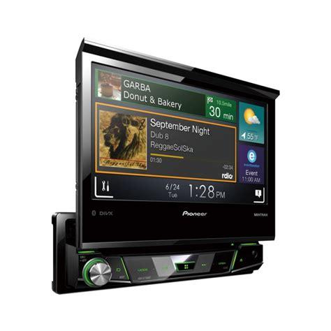Unit Doble Din Avi Avh X7800bt Single Din Motorised Dvd Av Sat Nav Add On