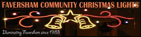 welcome to faversham community christmas lights