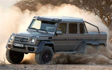 mercedes truck 6x6 find mercedes unveils awesome g63 amg 6x6