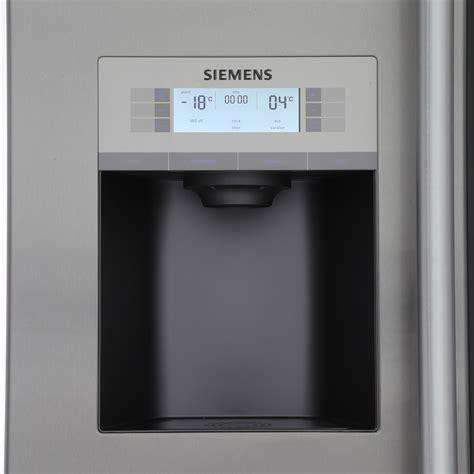 siemens door buy siemens ka92dai20g american fridge freezer stainless