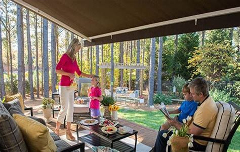 Sunbrella Retractable Awning by Retractable Awnings Delta Tent Awning Company