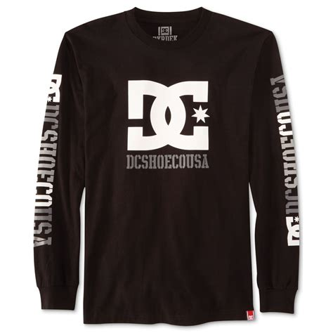 Tshirts Dc 1 lyst dc shoes rob dyrdek usa 2 sleeve tshirt in