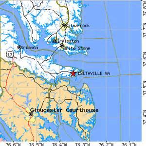 deltaville virginia va population data races