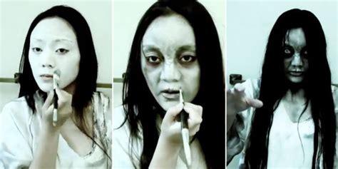 tutorial makeup hantu tutorial make up hantu