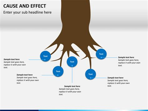 cause and effect diagram template powerpoint cause and effect diagram powerpoint template sketchbubble