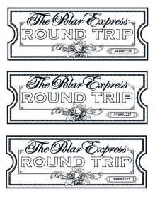 Polar Express Tickets Printable » Home Design 2017