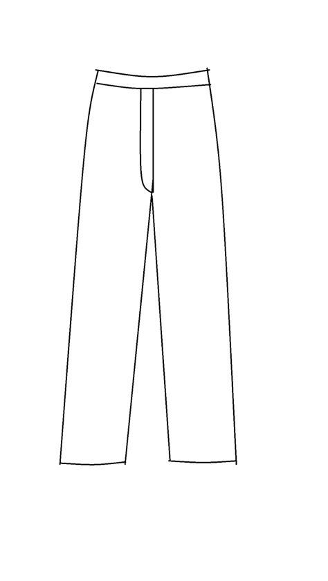 pola menjahit celana joger wanita dewasa my hobby pola celana panjang dewasa