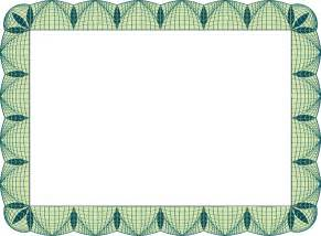 border templates for certificates free certificate border artwork certificate background