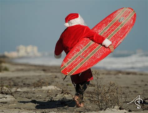 santa on surfboard 1000 images about surfing santa on surfing surf and merry