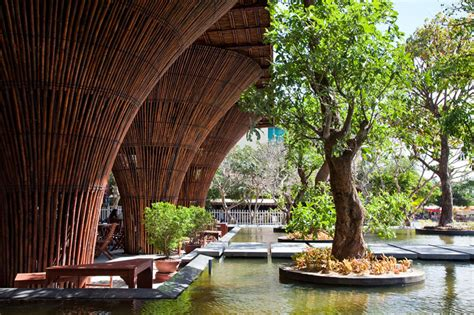 Design Store Moss Opens In La by Bamboo Kontum Indochine Cafe By Vo Trong Nghia Architects