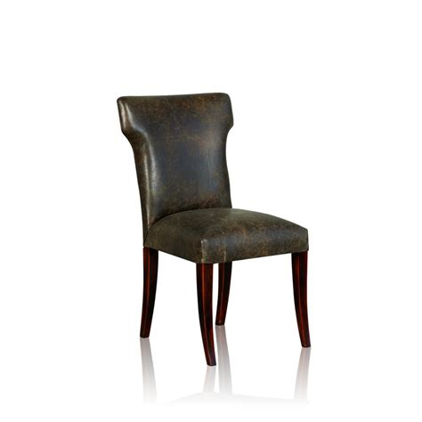 Winged Dining Chairs Winged Dining Chair Club Anthracite 1 Trilogy Furniture