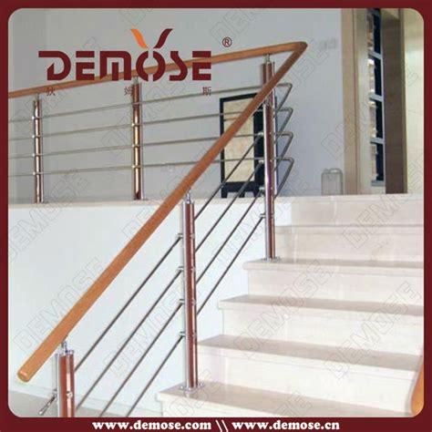 Stainless Steel Banisters Elegante Barandales Para Escaleras Interiores Barandillas