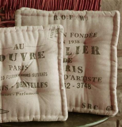 french  square chair cushion atelier de paris pillow