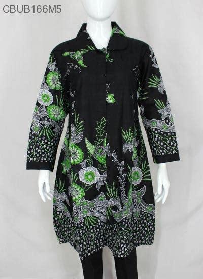 Ch4367 Jumbo Tunik Tarida Batik tunik kusuma jumbo motif akar blus lengan panjang murah batikunik