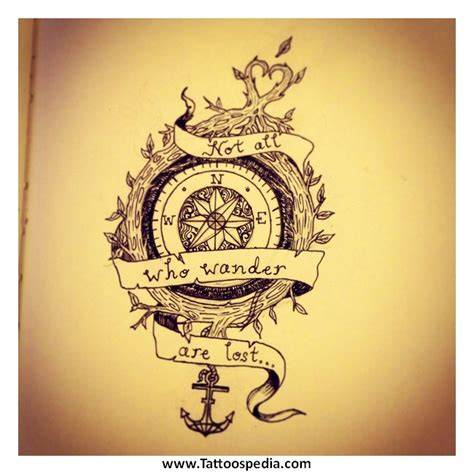compass tattoo meaning tumblr compass tattoo tattoospedia