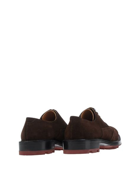 Jil Sander Shoe 3 by Jil Sander Lace Up Shoes In Brown For Lyst