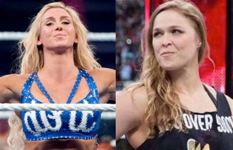 charlotte flair vs rousey charlotte flair on possible match with ronda rousey