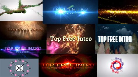 Sony Vegas Birthday Templates top 10 free intro templates 2016 sony vegas pro 13
