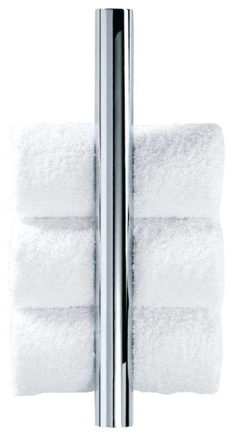vertical towel rack bathroom dwba guest towel vertical rack chrome contemporary