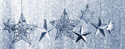 append stelle cadenti fondo d argento della scintilla fotografia stock