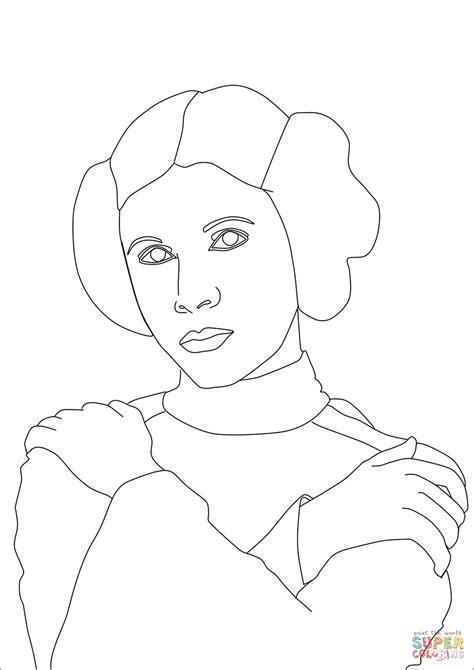 princess leia coloring pages princess leia coloring page free printable coloring pages