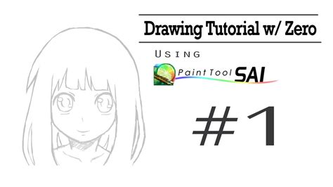 paint tool sai sketching tutorial drawing tutorial w zero paint tool sai quot sketching