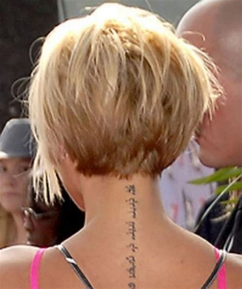 wedge haircut with stacked back 15 short wedge haircut back view 2015 short hair trends