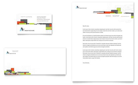 architectural templates architectural design business card letterhead template