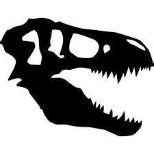 rex skull stencil  google search jurassic world