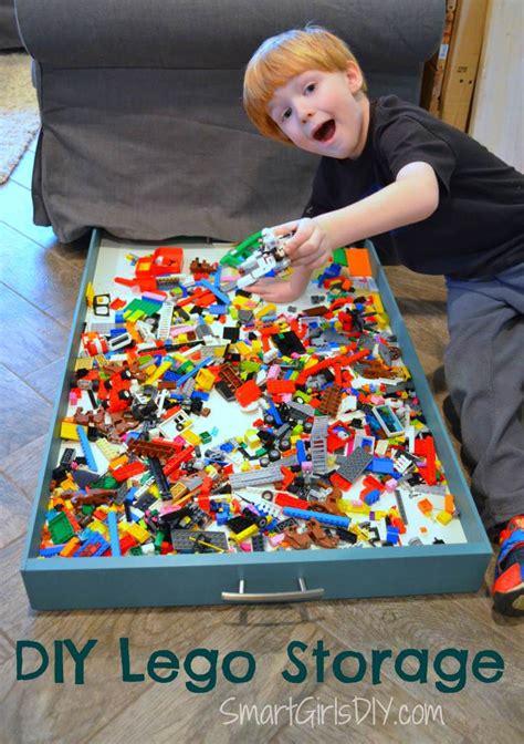 under couch storage ideas 21 diy lego trays and organization ideas