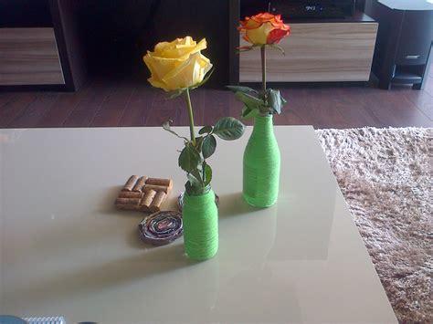 floreros originales originales floreros con botellas de vidrio recicladas a