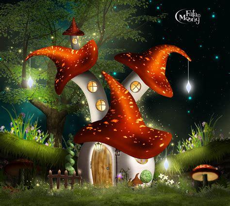 mushroom fairy house mushroom house fairy by fatamoony on deviantart