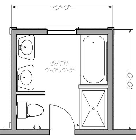 bathroom blueprints for 8x10 space home design small bathroom floor plans with both tub and shower
