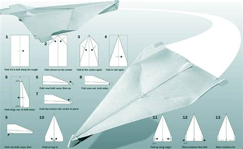 How To Make Awesome Paper Planes - paper airplanes tactics