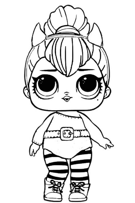 Lol Doll Coloring Pages Printable