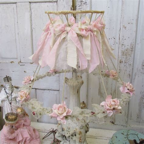 728 best images about shabby chic lshades on pinterest romantic cottage lace l and