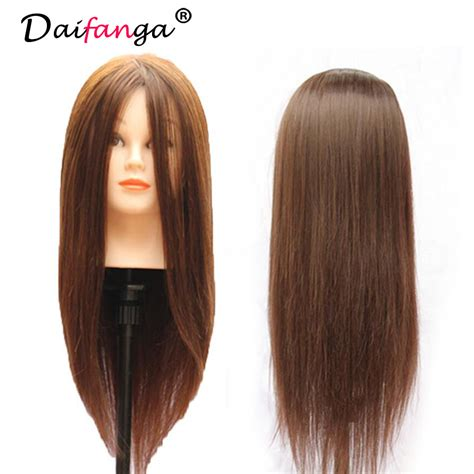 Real Hair Mannequin Heads by 90 Real Human Hair Mannequin Hair Hairdressing Doll