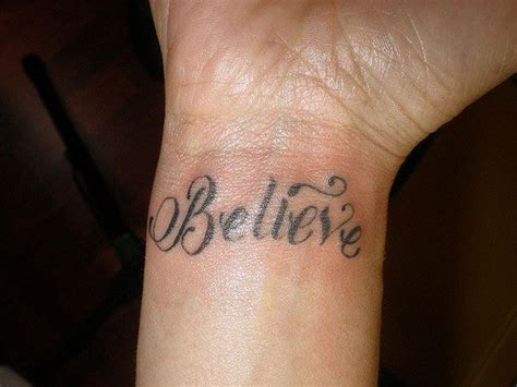 believe tattoo 35 inspirational believe tattoos my