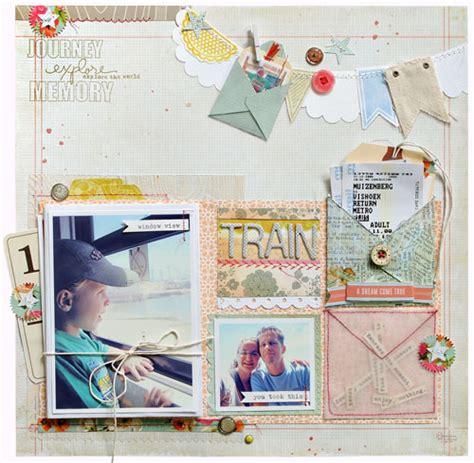 scrapbook album layout 10 minute tricks create an easy envelope mini album