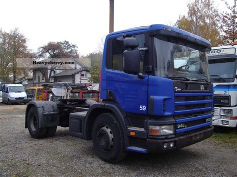 scania 94d 260 1997 standard tractor trailer unit photo