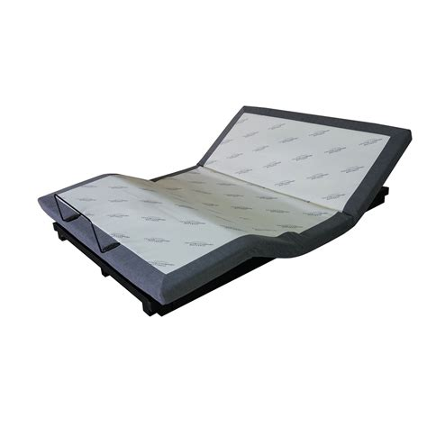custom comfort 2 0 single rail premium wireless adjustable bed custom comfort mattress