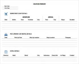 itinerary template word trip itinerary template 20 free word excel documents