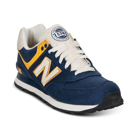 new balance sneakers 574 new balance 574 sneakers in blue for lyst